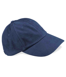 75x BB57 Beechfield Heavy Brushed Low Profile Cap + FREE Embroidery