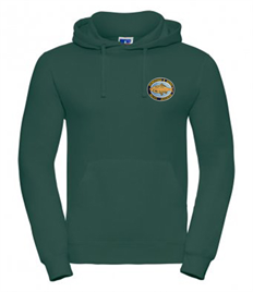 Crowborough Anglers 575M Hoody with embroidered logo