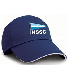 RC038 Result Herringbone Cap Navy Blue
