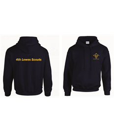 4th Lewes Scouts Hoody