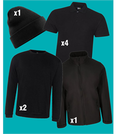 8 Piece Workwear Bundle