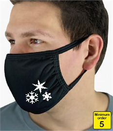 Snowflake Face Mask Pack of 5