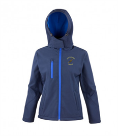 SEH ladies Hooded Softshell Jacket
