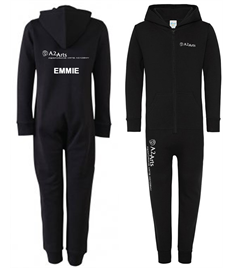 A2 Performing Arts Onesie with logo and Name