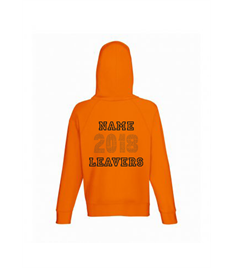 Leavers Hoody 2018 (Names in 2018 Design + Individual Name)