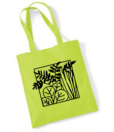 100x Promo Shoulder Tote Bags with free print
