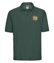 Crowborough Anglers 539M Russell Polo Shirt with embroidered logo