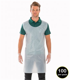 RV011Result Disposable Apron Pack of 100