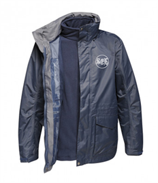 SEH 2 Regatta Benson III 3-in-1 Breathable Jacket MENS