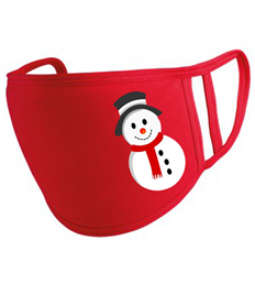 Snowman Face Mask PACK OF 5