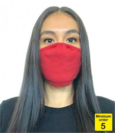 NX1005Next Level Eco Performance Face Mask Pack of 5