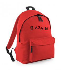 A2 Performing Arts Backpack with logo