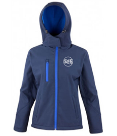 SEH 2 ladies Hooded Softshell Jacket