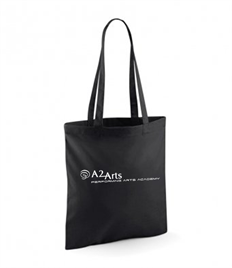 A2 Performing Arts Tote Bag with logo