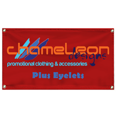Banner 1m x 50cm with Eyelets