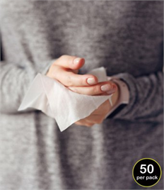 RV003Result Biodegradable Disinfectant Wipes Pack of 50