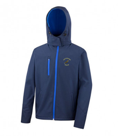 SEH Mens Hooded Softshell Jacket