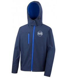 SEH 2 Mens Hooded Softshell Jacket
